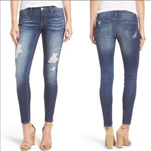 Vigoss The Chelsea Skinny Distressed Jeans